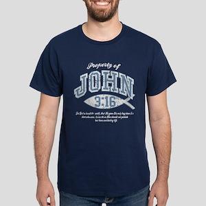 John 3:16 Dark T-Shirt