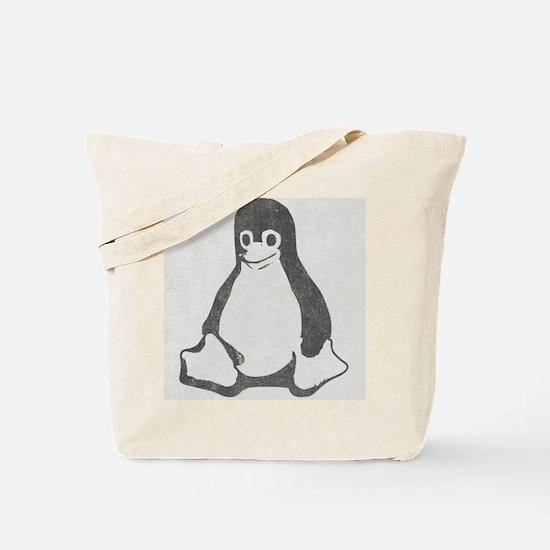 Linux Penguin Tote Bag