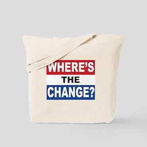 Hope and change Tote Bag