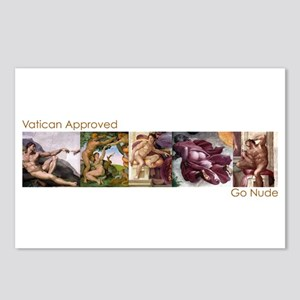 Vatican Approved Nude Postcards (Package of 8)