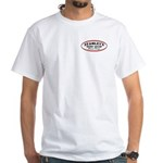 Stanley's Oval White T-Shirt