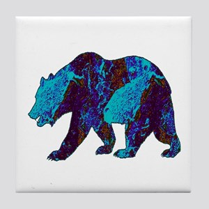 NIGHT WANDERINGS Tile Coaster