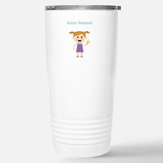 Anna Banana Stainless Steel Travel Mug