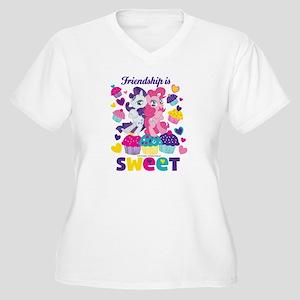 MLP Friendship is Women's Plus Size V-Neck T-Shirt