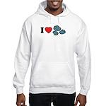I Love Rocks Hooded Sweatshirt