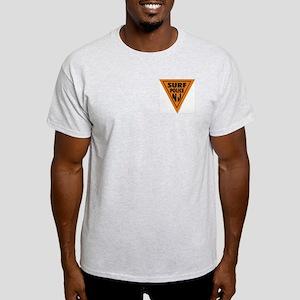 Surf Police NJ Ash Grey T-Shirt