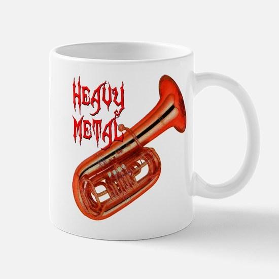 Heavy Metal - Tuba Large Mugs