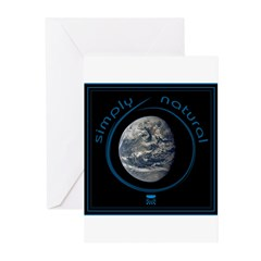 Simply Natural Earth Greeting Cards (Pk of 10)