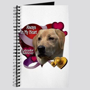 Always In My Heart Labrador Retriever Journal