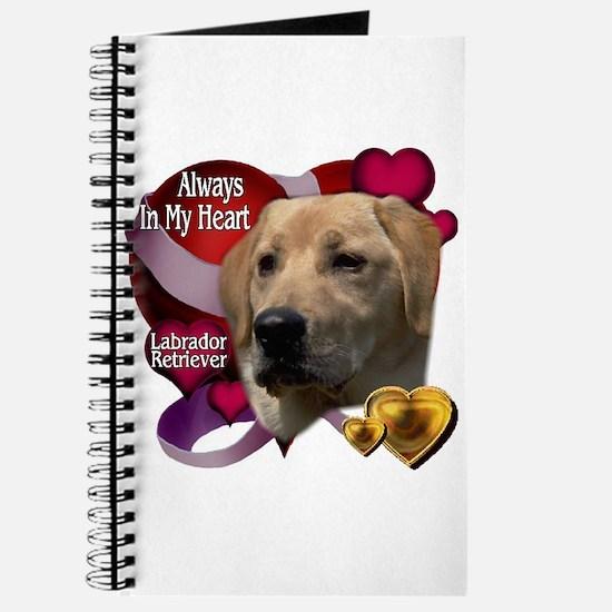Always In My Heart Labrador Retriever Journal