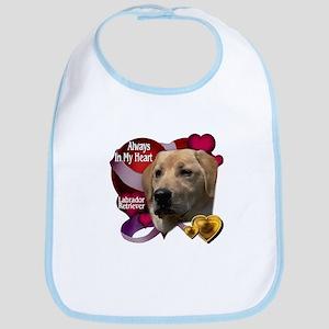 Always In My Heart Labrador Retriever Bib
