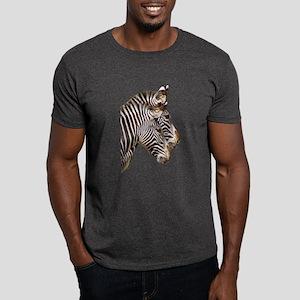 Zebra Face Dark T-Shirt