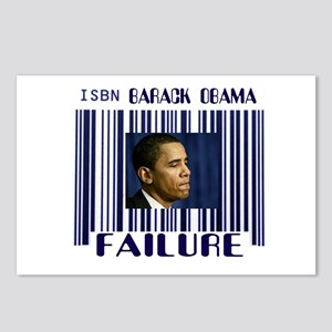 FAILURE IS THE PRICE WE PAY Postcards (Package of