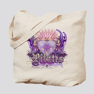 Peace Love Pilates Tote Bag