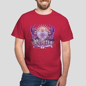 Peace Love Pilates Dark T-Shirt