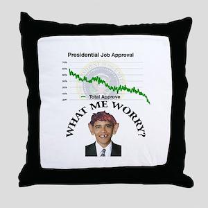 PrezApproval Throw Pillow