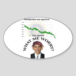 PrezApproval Oval Sticker
