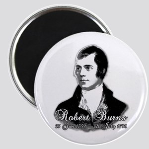 Robert Burns Commemorative Magnet