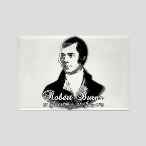 Robert Burns Commemorative Rectangle Magnet