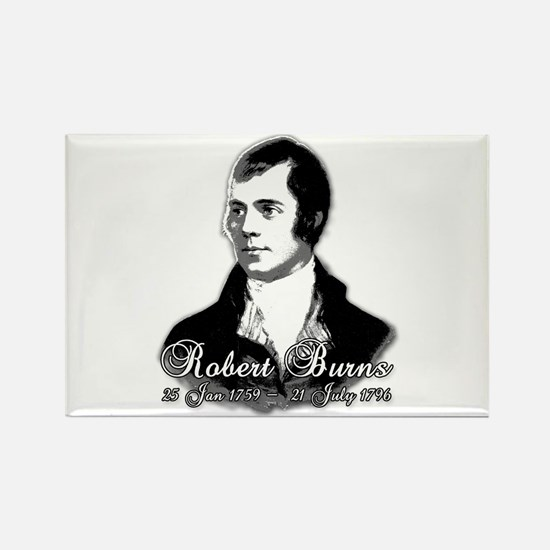 Robert Burns Commemorative Rectangle Magnet