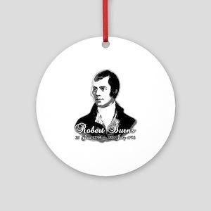 Robert Burns Commemorative Ornament (Round)
