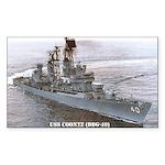 USS COONTZ Rectangle Sticker 50 pk)