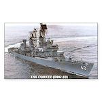 USS COONTZ Rectangle Sticker