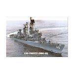 USS COONTZ Mini Poster Print