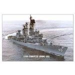 USS COONTZ Large Poster