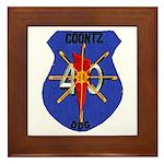 USS COONTZ Framed Tile
