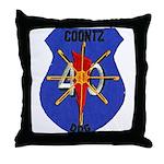 USS COONTZ Throw Pillow