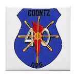 USS COONTZ Tile Coaster