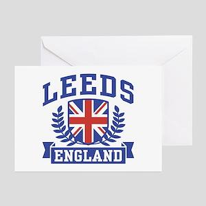 Leeds England Greeting Cards (Pk of 10)
