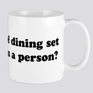 What kind of dining set Mug