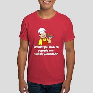 Sample My Polish Kielbasa Dark T-Shirt