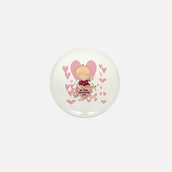 Angel Baby Valentine Mini Button