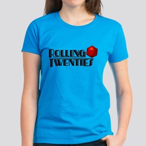 Rolling Twenties d20 Women's Dark T-Shirt
