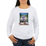 Frenchie Be Mine Women's Long Sleeve T-Shirt
