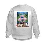 Frenchie Be Mine Kids Sweatshirt