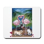 Frenchie Be Mine Mousepad