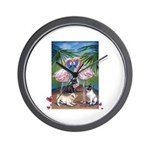 Frenchie Be Mine Wall Clock