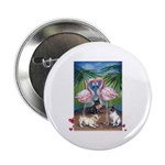 """Frenchie Be Mine 2.25"""" Button"""