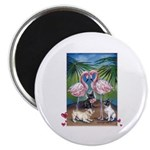"""Frenchie Be Mine 2.25"""" Magnet (10 pack)"""