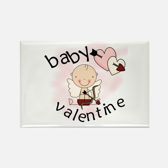 Baby Valentine Rectangle Magnet (10 pack)
