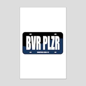 BVR PLZR Mini Poster Print