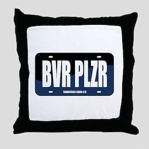 BVR PLZR Throw Pillow