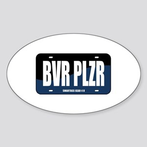 BVR PLZR Oval Sticker