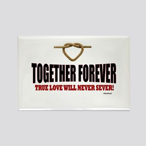 Together Forever Rectangle Magnet