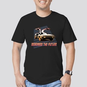 Remember the Future Men's Fitted T-Shirt (dark)