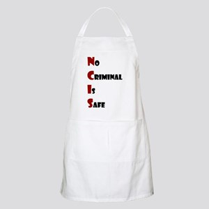 NCIS: No Criminal Is Safe Apron